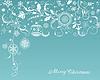 Vektor Cliparts: Weihnachten und Neujahr Hintergrund mit weißen
