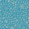 Nahtloses Muster der Schneeflocken, grau auf hellblauem | Stock Vektrografik