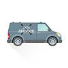 Векторный клипарт: аварийный ремонт и техническое обслуживание автомобилей