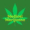 Векторный клипарт: медицинская марихуана каннабис абстрактный знак