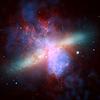 Векторный клипарт: красочные пространства галактического фона