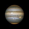 Векторный клипарт: реалистичное планета Юпитер