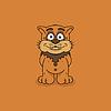 Funny Animal Vektor Illustration