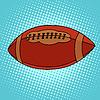Ball für Rugby oder American Football