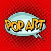 Векторный клипарт: Поп-арт ретро текст комиксов пузырь