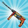 Elektro-Bohrhammer ist ein professionelles Werkzeug für die