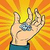 Medizinische Pillen in der Hand