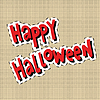 Happy Halloween label sticker | Stock Vector Graphics