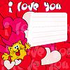 Grußkarte Ich liebe dich