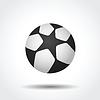 Soccer ball icon | Stock Vector Graphics