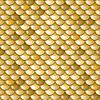 Nahtlose Gold Fluss Fischschuppen