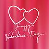 Valentinstag Grußkarte Hintergrund