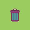Urne Flach icon