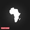 Afrika-Karte - Symbol