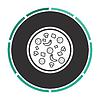 Pizza computer symbol | Stock Vector Graphics
