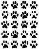 Drukuj kotów łapach | Stock Vector Graphics