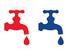 Vektor Cliparts: Wasserhahn
