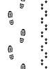 Векторный клипарт: Бесшовные отпечатки