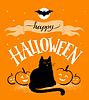 Happy Halloween Postkarte