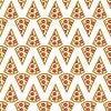 Stück Pizza seamless pattern