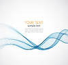Abstract background, blue wave | Stock Vector Graphics