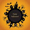 Glückliche Halloween-Spaß