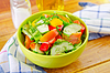 Vegetable salad | Stock Foto