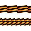 Nahtlose schwarz-orange Bänder