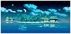 Paradise Inseln in der Nacht