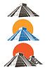 Векторный клипарт: Пирамиды