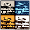 Vektor Cliparts: Motel