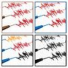 Vektor Cliparts: Seismograph