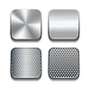 Apps Metall-Icon-Set