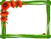 Floral frame   Stock Vector Graphics