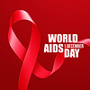 Aids Awareness. Welt-Aids-Tag-Konzept