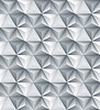 Abstrakte geometrische Dreieck nahtlose 3D-Textur