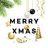 Vektor Cliparts: Traditionelle Weihnachtsdekoration Elemente. Modern