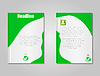 Broschüre Design-Vorlage stylish