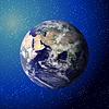 Erde aus dem Weltraum gesehen, Elemente der dies durch möbliert
