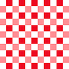 Background with red and white squares pattern