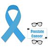 Blaues Band auf Thema von Prostatakrebs