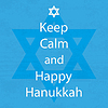 Happy Hanukkah Tag Ruhe bewahren