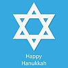 Sterne auf blauem Hintergrund Hanukkah Day