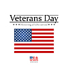 Vektor Cliparts: Veteranen-Tag. Alle Ehren, die dienten. usa flag
