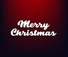 Vektor Cliparts: Frohe Weihnachten Text Beschriftung Design-Karte Vorlage