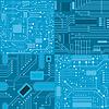 Set von Texturen Computer-Board