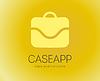 Abstrakt Tasche Logo-Vorlage für Branding und Design