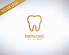 Tooth Icon. Gesundheit, Medizin oder Arzt und Zahnarzt