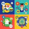 Webinar. Online-Schule, Kurse und Communi