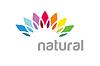 Векторный клипарт: Абстрактный цветной цветок похож на солнце логотипа